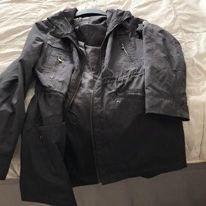 Michael Kira rain jacket